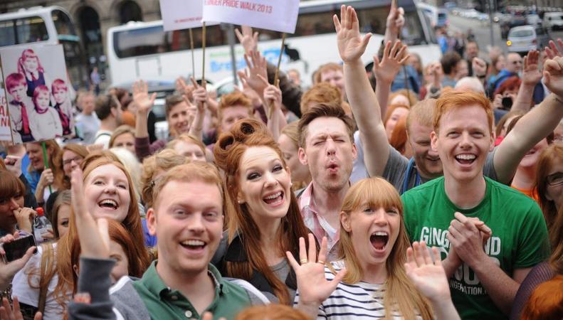 Рыжеволосых посетителей пустят в зоопарк Twycross Zoo бесплатно в День Орангутанга фото:standard.co.uk