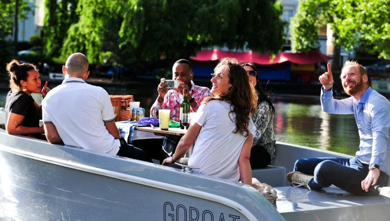 Беспилотные прогулочные катера спущены на воду Паддингтонского канала