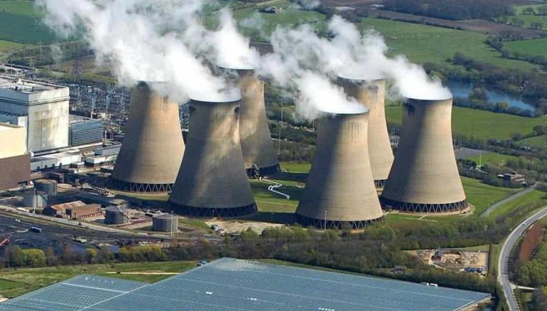 Производство электроэнергии из угля в Великобритании сократилось до нуля фото:shropshirestar.com