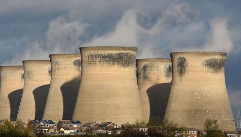 Британская энергетика полные сутки проработала без угля фото:bbc