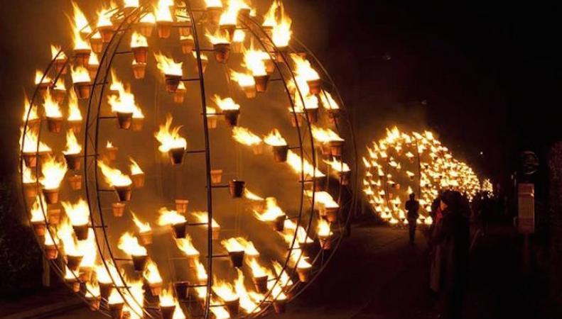 В Лондоне состоится Большой Огненный фестиваль фото:londonist.com