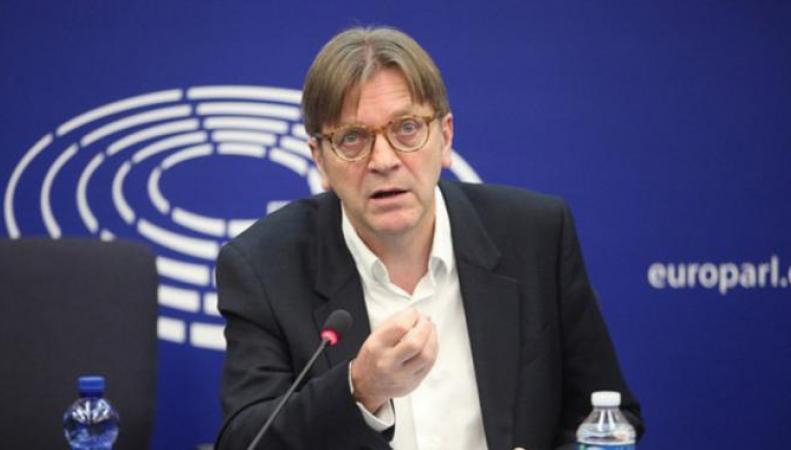 Уступка Великобритании в вопросе контроля миграции грозит развалом ЕС, - Ги Верхофстадт фото:euractiv.com
