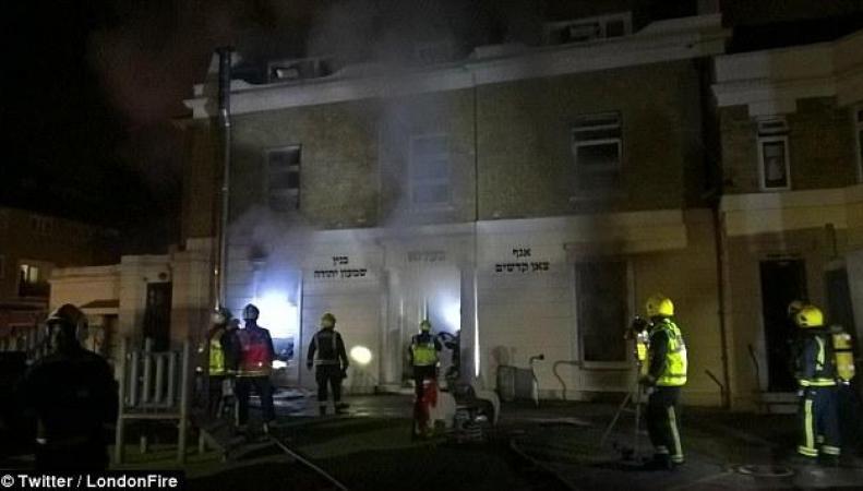 В Хакни сгорело здание церковной еврейской школы