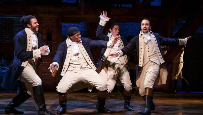 Мюзикл «Гамильтон» может стать самой титулованной постановкой в Великобритании