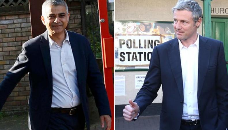 Садик Хан лидирует на выборах мэра Лондона фото: theguardian.com