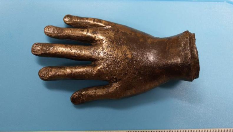 «Рука бога» найдена рядом с Адриановым валом