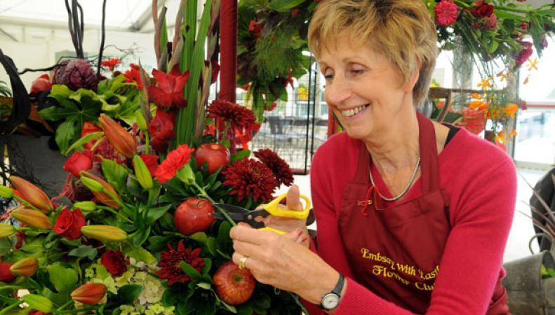 В Харрогите открылась осенняя цветочная выставка фото: flowershow.org.uk