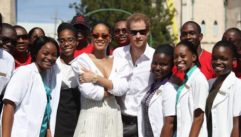 Принц Гарри и Рианна прошли тест на ВИЧ на Барбадосе фото:dailymail.co.uk