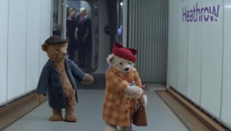 Реклама  аэропорта Хитроу стала фаворитом рождественского телеэфира