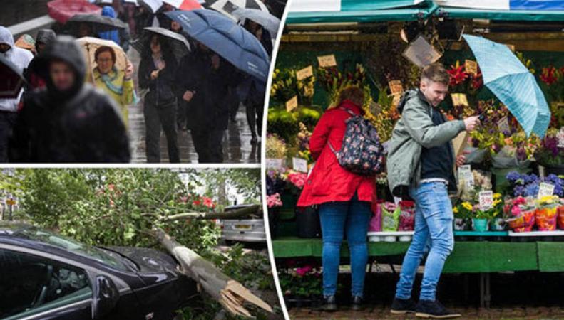 Шторм в Великобритании унес жизни пяти человек