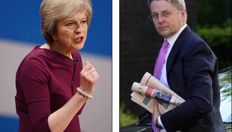 Тереза Мэй будет увольнять министров в случае передачи информации о Brexit  в СМИ фото:dailymail.co.uk