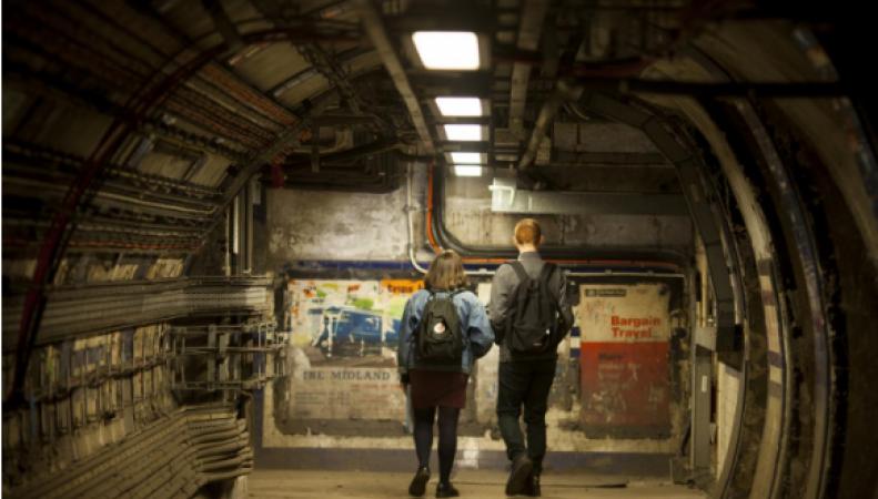 Лондон откроет для туристов заброшенные туннели и станции метро фото:standard.co.uk