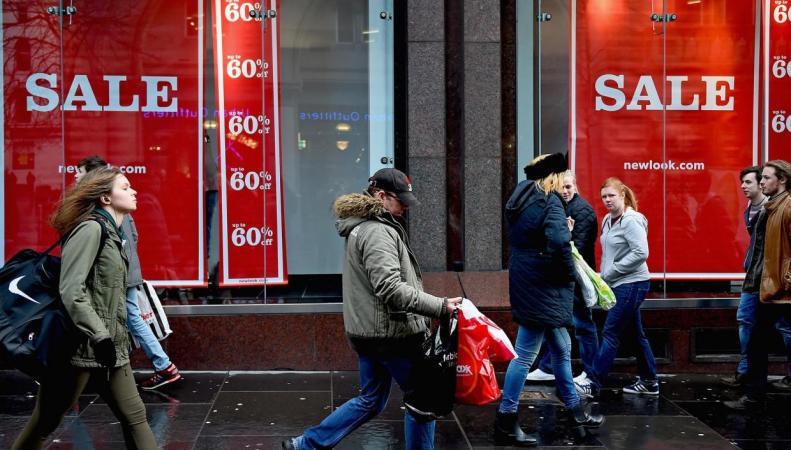 Инфляция в Великобритании достигла максимума за два года фото:independent.co.uk