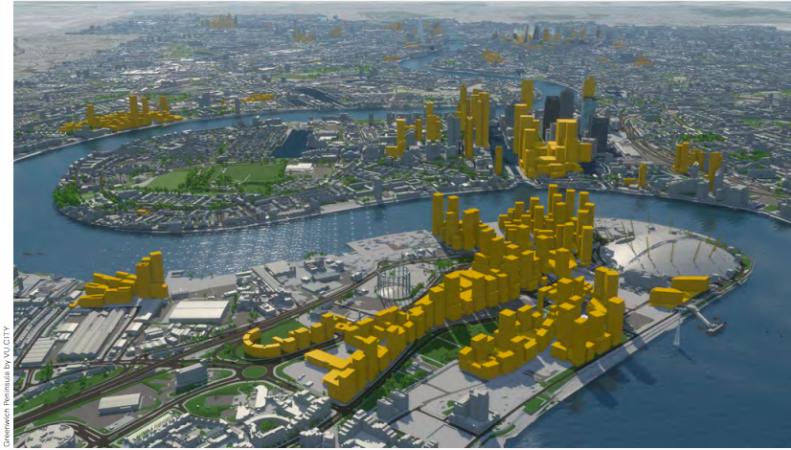 В Лондоне построят пятьсот высотных зданий