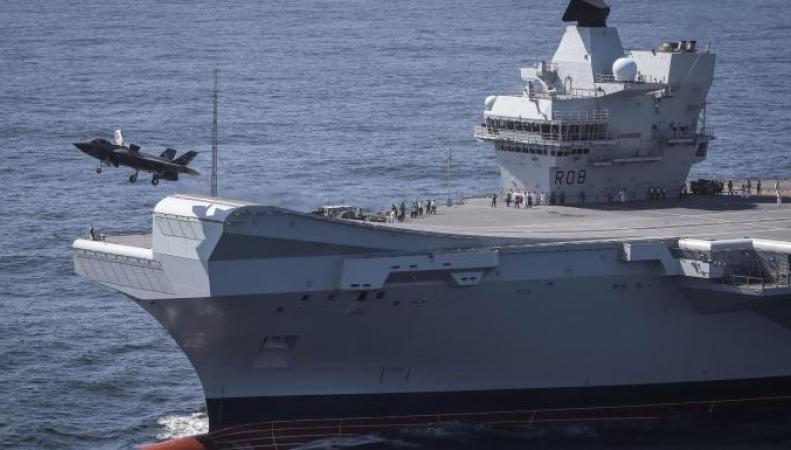 «Королева Елизавета» отправится в Тихий океан для демонстрации силы Китаю