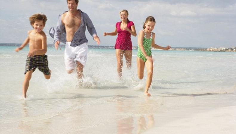 Отдых с детьми для британцев дорожает вдвое в период весенних каникул фото:thisismoney.co.uk