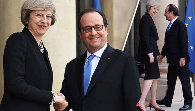 Франция будет настаивать на немедленном начале переговоров по Brexit фото:bbc.com