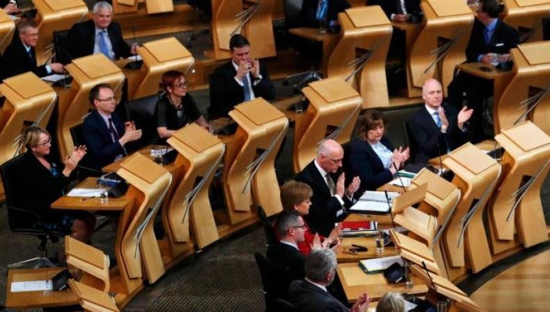 Парламент Шотландии отказался поддержать закон о Брекзите