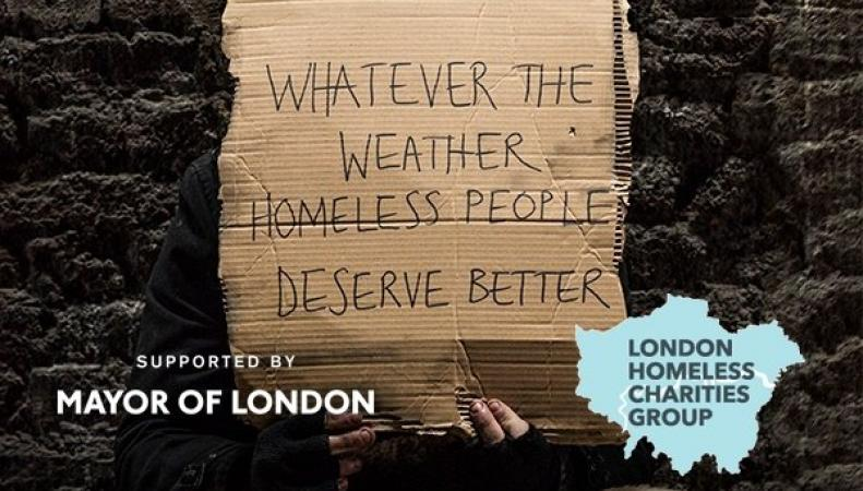 Мэрия Лондона открыла сеть точек бесконтактных пожертвований бездомным
