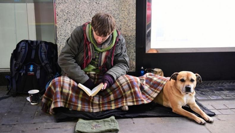 В Британии создали сервис для безналичных пожертвований бездомным