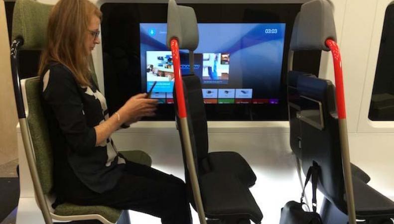 В лондонских электричках заменят сиденья фото:standard.co.uk