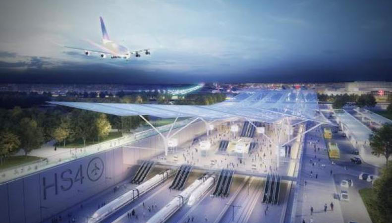Новая железнодорожная ветка ускорит трансфер между аэропортами Гатвик и Хитроу