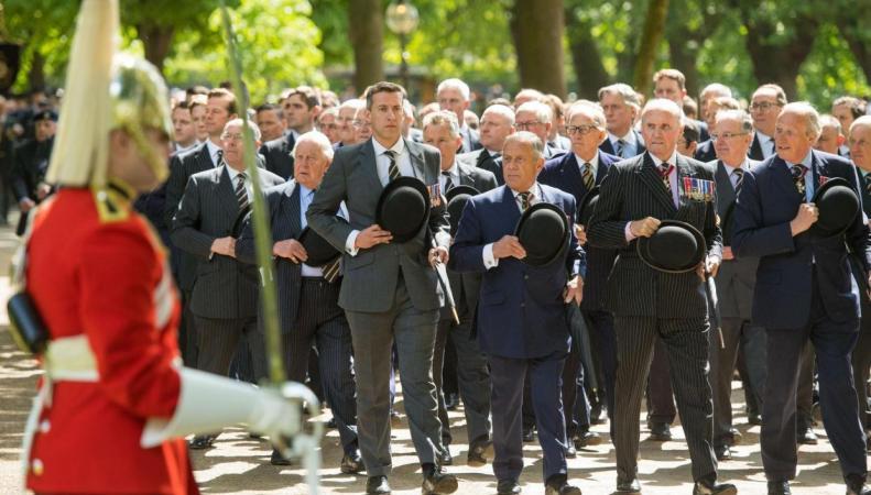 В Гайд-парке прошел ежегодный парад ветеранов войн фото:standard.co.uk