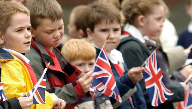 дети в Англии