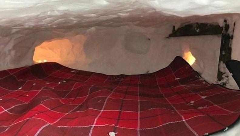 Шотландец построил снежный дом и выставил его на Airbnb
