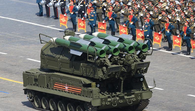 увидеть на Параде Победы ракету-нарушительницу