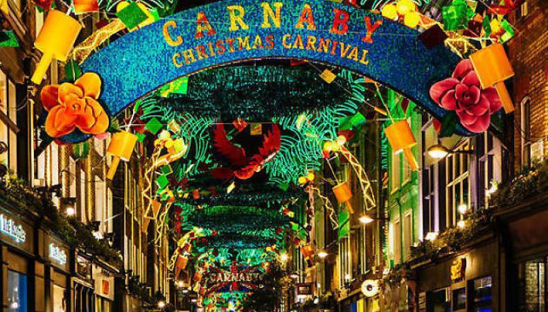 Лучшая рождественская иллюминация в Лондоне – спешите увидеть!