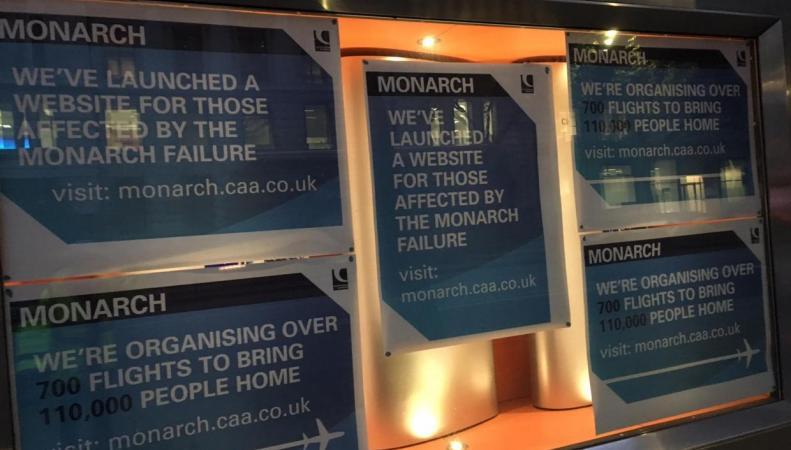 Клиенты Monarch платят дважды фото:independent