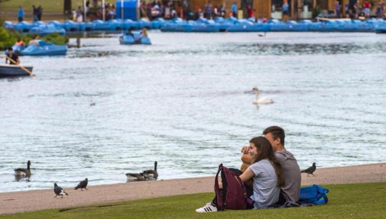 В Лондоне начинается «индийское лето» фото:standard.co.uk