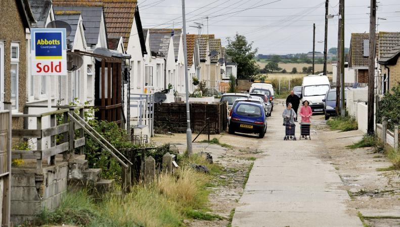 На побережье Эссекса объявлена эвакуация населенного пункта из-за угрозы затопления фото:metro.co.uk