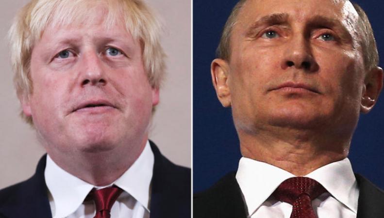 Джонсон предсказал попытку вмешательства России в предстоящие парламентские выборы