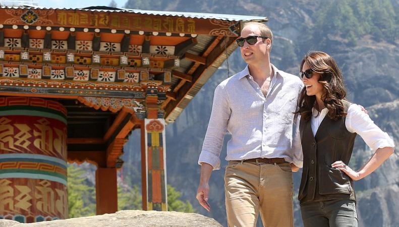 Принц Уильям и Кейт в Бутане