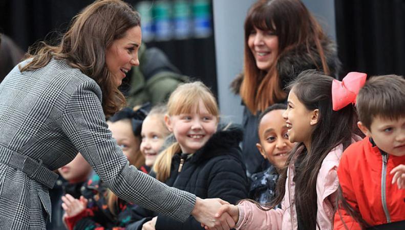 Кейт Миддлтон и принц Уильям посетили деловой саммит в Манчестере