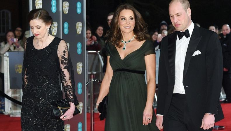 Герцогиня Кейт посетила церемонию награждения кинопремией BAFTA