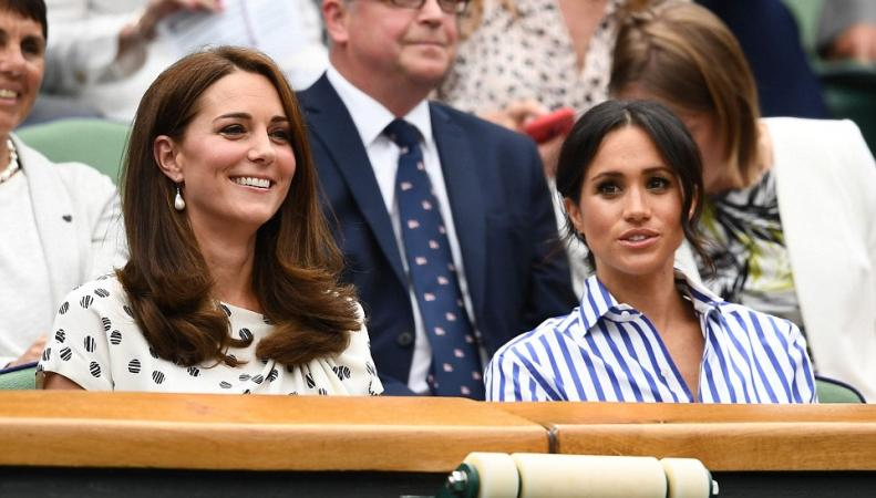 Герцогини Кейт и Меган посетили женский финал Уимблдонского турнира