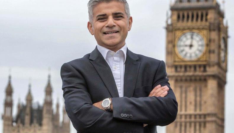 Официально назван новый мэр Лондона фото:bbc.com