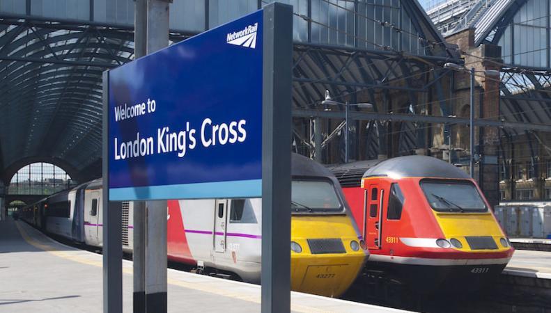 Обычная магия вокзала King`s Cross: Платформа Ноль фото:londonist.com