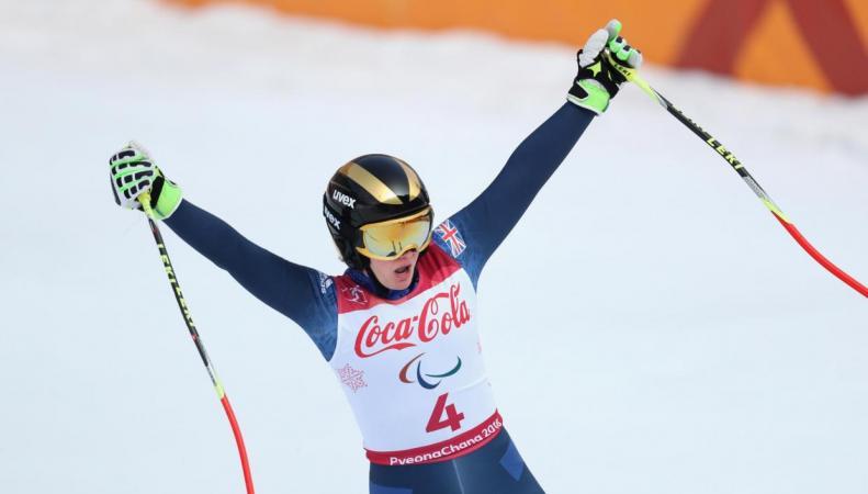 Лыжница Милли Найт принесла первую медаль британской паралимпийской сборной