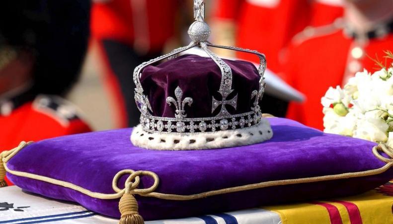 Государственная крона британских монархов