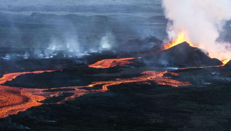 Дома в Великобритании будут обогревать энергией исландской лавы фото:skynews