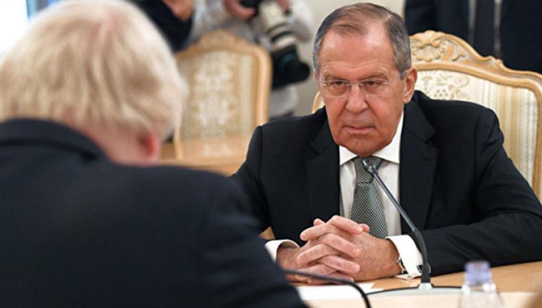 Борис Джонсон приехал в Россию