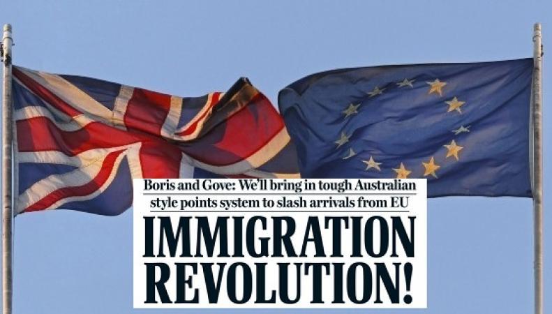 Джонсон и Гоув анонсировали «революцию» в вопросе контроля миграции после Brexit