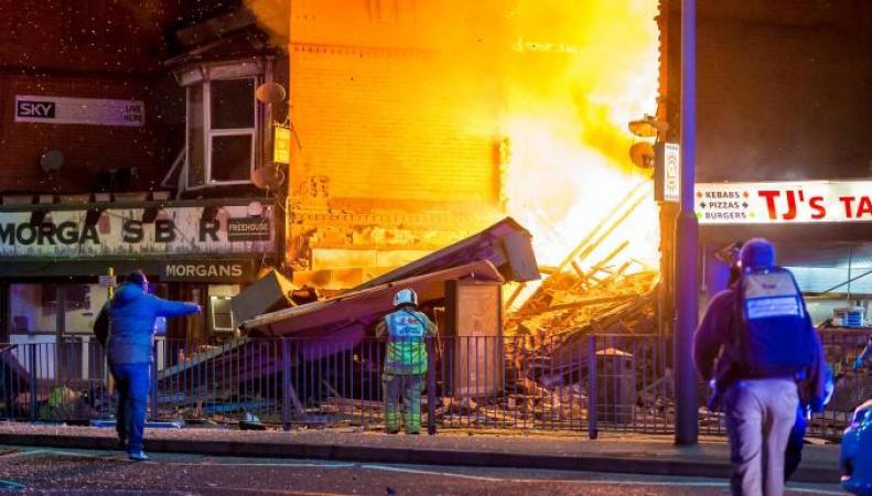Подробности взрыва в Лестере: шесть человек в больнице