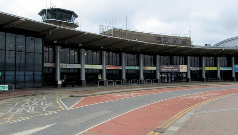 Аэропорт Лидса приостановил работу из-за подозрительного свертка фото:bbc