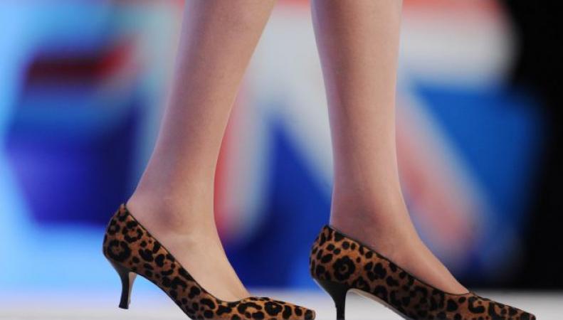 Профсоюзы потребовали от Терезы Мэй отказаться от вызывающих леопардовых туфель фото:dailymail.co.uk