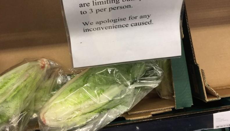 НаБританских островах недостаток салата— Верхушка айсберга